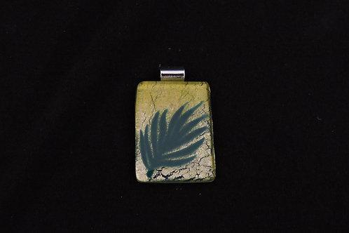 P351 Palm Leaf Pendant