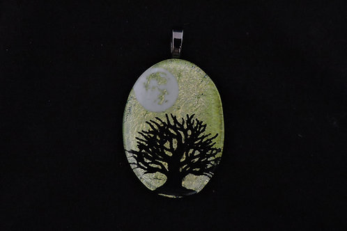 P343 Oval Tree of Life Pendant