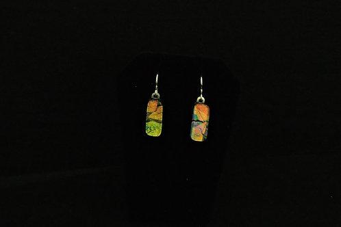 E050 Plumeria Earrings