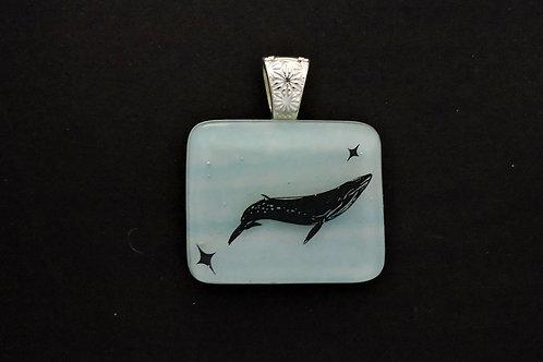 P009 Whale Pendant