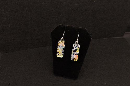 E056 Dbl Geo Earrings