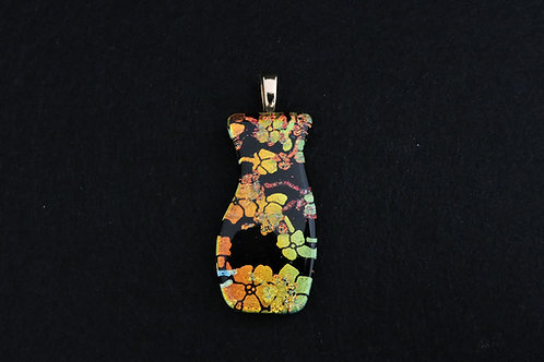P390 Cherry Blossom Vase Pendant