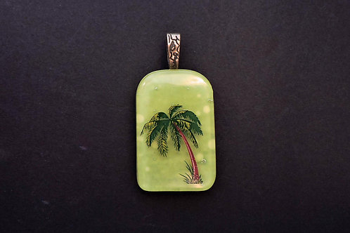 P023 Palm Tree Pendant