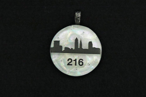 O042 Cleveland Skyline w/216 Pendant