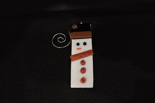 H09 Brown Snowdude Ornament