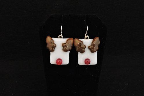 H22 Reindeer Earrings