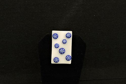 H65 Snow Flake Pin