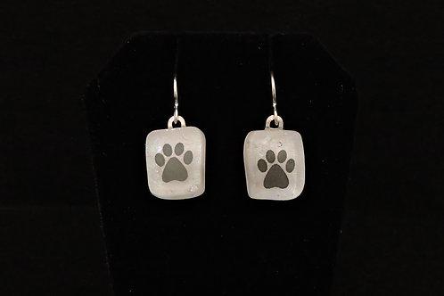 A050 Small Paw Earrings