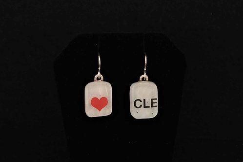 E075 CLE Love Earrings