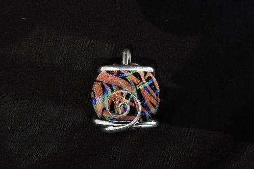 P368 Dynamic Spiral Pendant