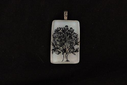 P201 Tree in Bloom Pendant