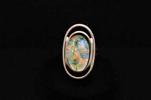 R18 Pastel Oval Ring
