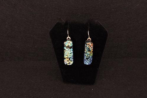 E090 Colorful Ivy Earrings
