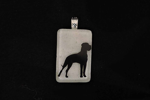 A047 Great Dane Pendant