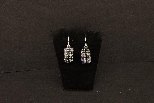 E088 Stain Glass Window Earrings
