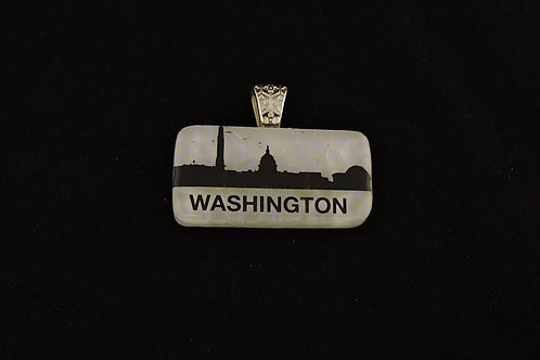 L023 Washington DC Skyline Pendant