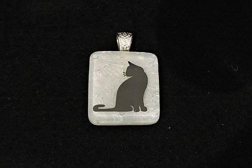 A046 Small Cat Pendant