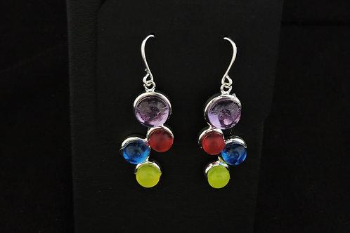 E021 Rainbow Earrings