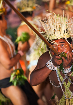 Traditional Temiar sewang dance performed during the 2013 International Day of the World's Indigenous Peoples.