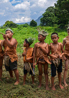 The Jakun-Orang Asli children of Kampung Peta posed for a photograph during the 2017 Earth Day celebration.  Kampung Peta was chosen as host of the celebrations in light of their determination to defend their customary territories in the Endau-Rompin National Park. During the event, visitors learnt about how their culture and heritage is closely linked to nature conservation.  The community has been in a legal battle with the Johor State Government since 2012 following an eviction notice issued to them. The eviction was quashed after the Johor Baru High Court recognised their right to those lands in the park and accorded them ownership and control over them. The State Government is however appealing that decision.