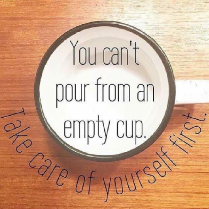 Selfish or Self Caring.