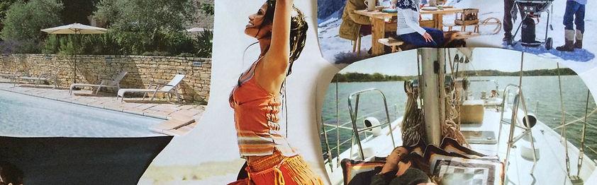 Visions Collage, Vision Board, Scanner, Meditation, Aura Reading