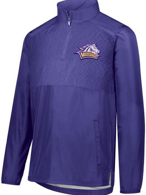 Men's purple holloway quarter zip