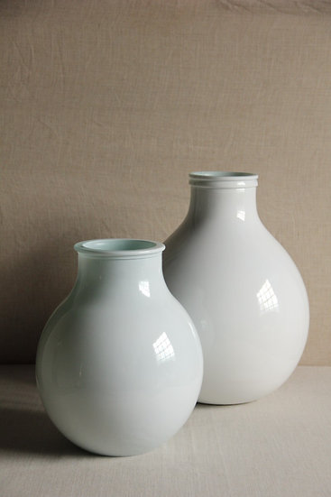 Vase BELLY WHITE