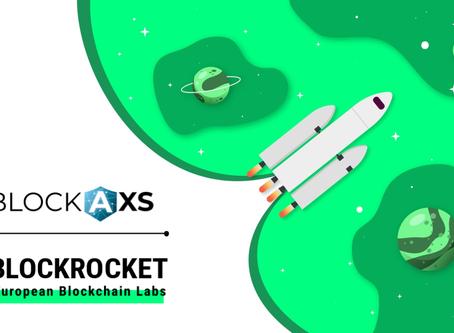 Copy of BlockAxs accelerates blockchain as BLOCKROCKET member
