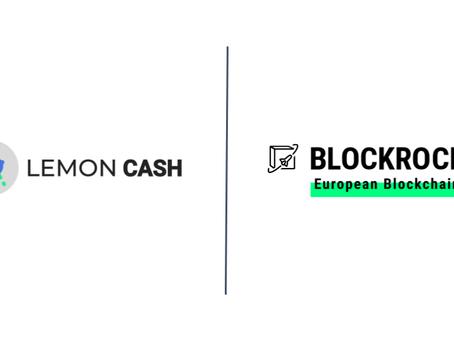 Lemon Cash accelerates blockchain as BLOCKROCKET member