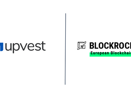 Upvest accelerates blockchain as BLOCKROCKET member