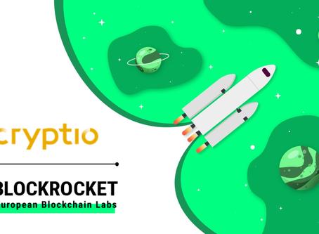 Cryptio accelerates blockchain as BLOCKROCKET member