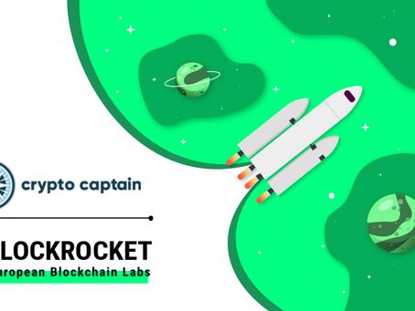 CryptoCaptain accelerates blockchain as BLOCKROCKET member