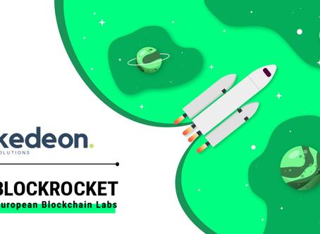Kedeon accelerates blockchain as BLOCKROCKET member