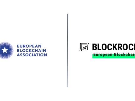The European Blockchain Association accelerates blockchain as BLOCKROCKET member