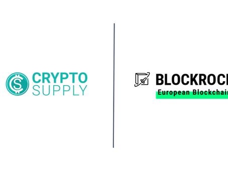 Crypto Supply accelerates blockchain as BLOCKROCKET member