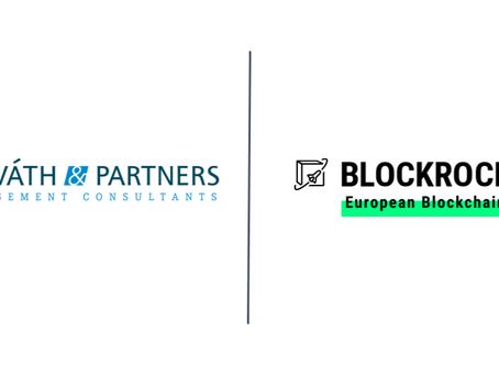 Horváth & Partners accelerates blockchain as BLOCKROCKET member