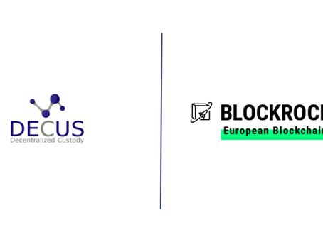 The DECUS Network GmbH accelerates blockchain as BLOCKROCKET member