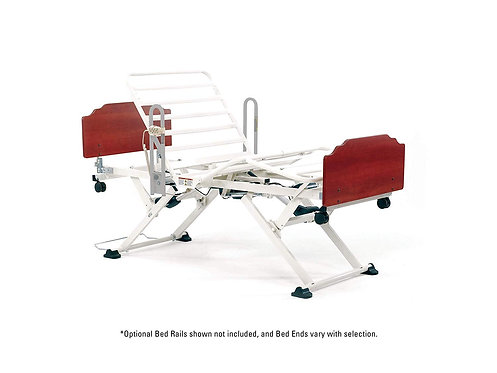 Invacare CS3 Bed, Amherst Style Bed Ends with Solar Oak Finish IHCS3AMSO-QSP