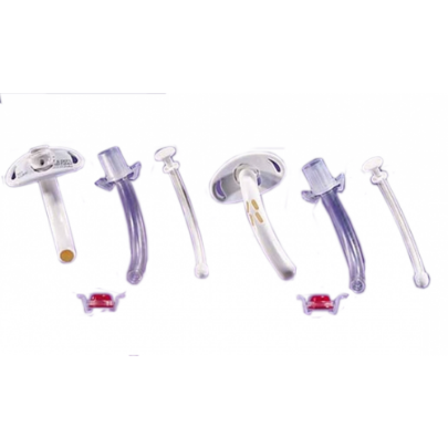 Shiley Cuffless Tracheostomy Tube with Disposable Inner Cannula