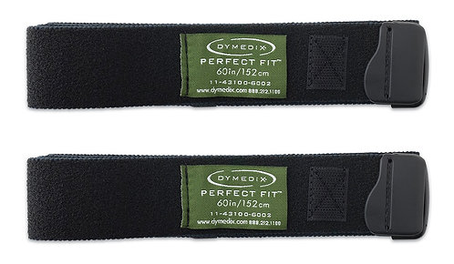 "Perfect Fit Respiratory Effort Belt Strap, XL - 60"" - 2 Pack"