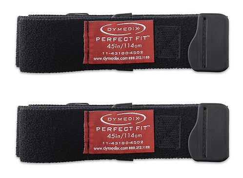 "Perfect Fit Respiratory Effort Belt Strap, Large, 45"" - 2 Pack"