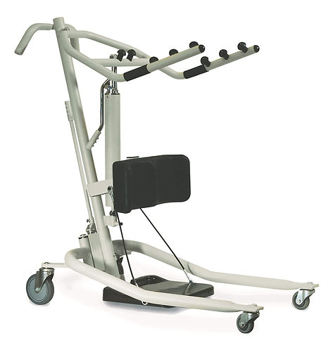Invacare Get-U-Up Hydraulic Stand-Up Patient Lift, 350 lb. Weight Capacity, GHS3