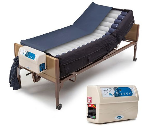 Invacare microAIR MA900 Lateral Rotation True Low Air Loss Mattress with Pump