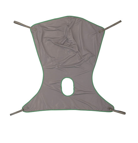 Invacare Comfort Sling for Patient Lifts with Commode Opening, Large, Polyester