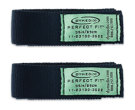 "Perfect Fit II Pediatric Effort Belt Strap, Pediatric XL, 35"", 2 Pack"