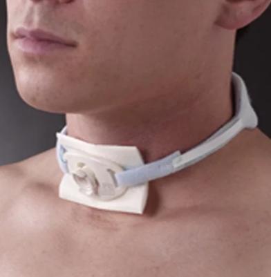 Posey Foam Trach Collar Ties