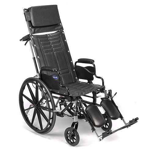Invacare Tracer SX5 Recliner Wheelchair, with Desk Length Arms and T94HAP