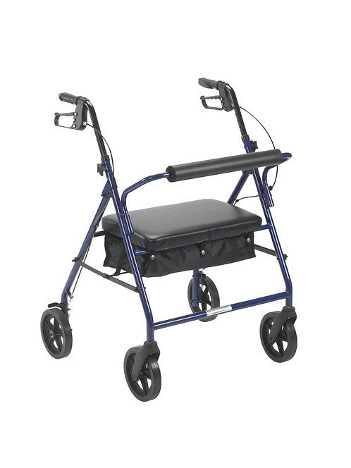 """BARIATRIC ROLLATOR WITH 8"""" WHEELS"""