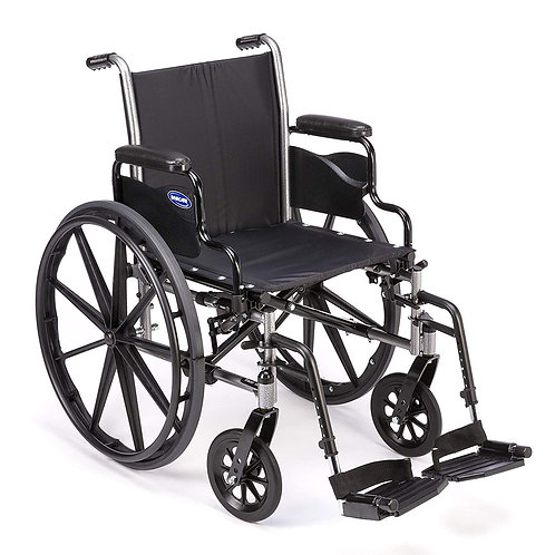 Invacare Tracer SX5 Wheelchair, with Desk Length Arms and T93HCP Composite Foot